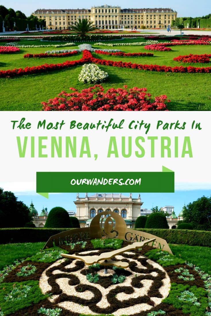 6 Beautiful Parks In Vienna, Austria