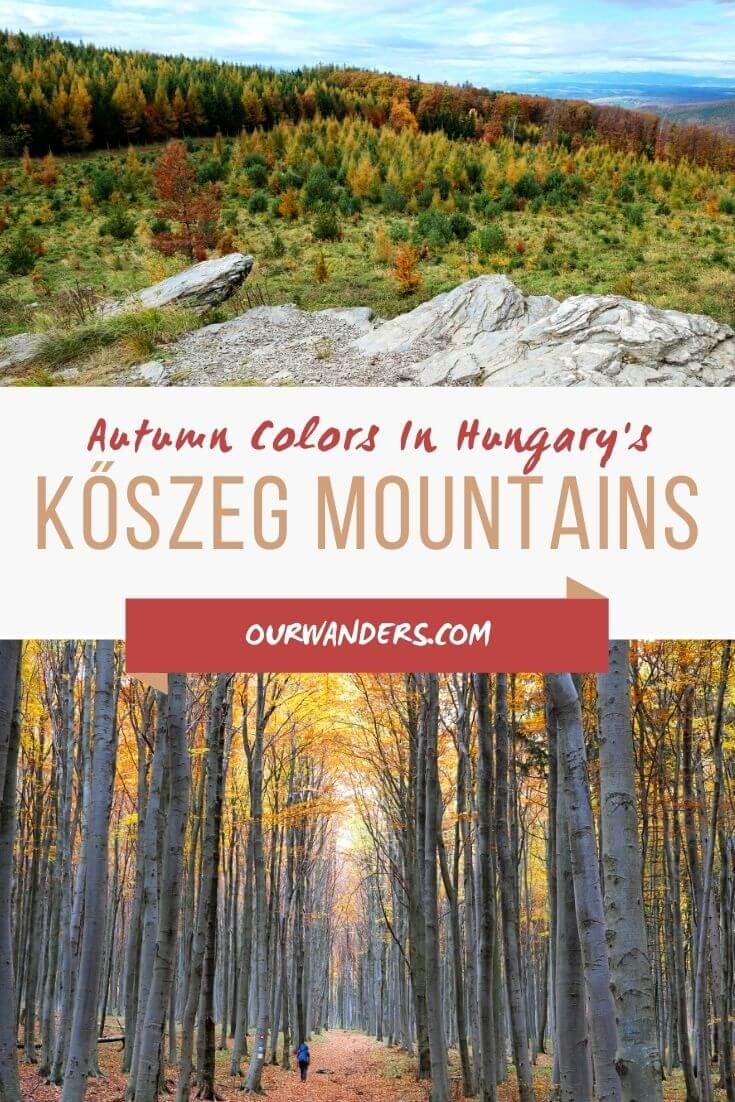 Autumn In Hungary's Kőszeg Mountains
